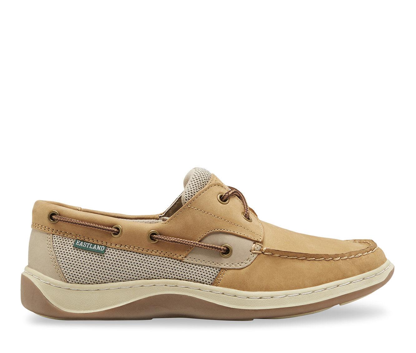 Men's Eastland Solstice Boat Shoes Tan