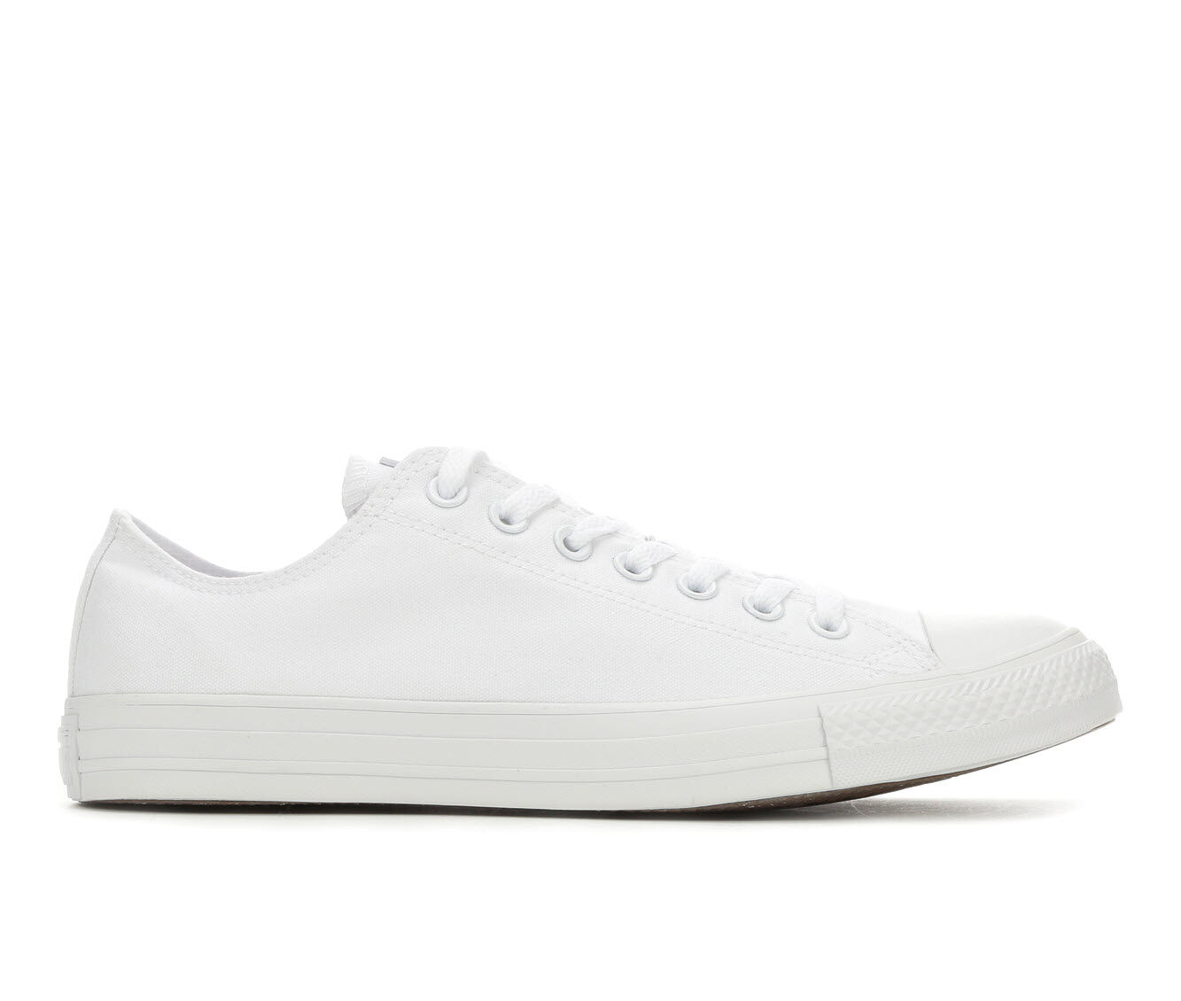 Adults' Converse Chuck Taylor All Star Canvas Ox Core Sneakers White Mono