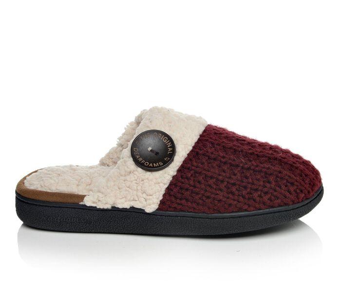 Women's Dearfoams Sweater Knit Scuff