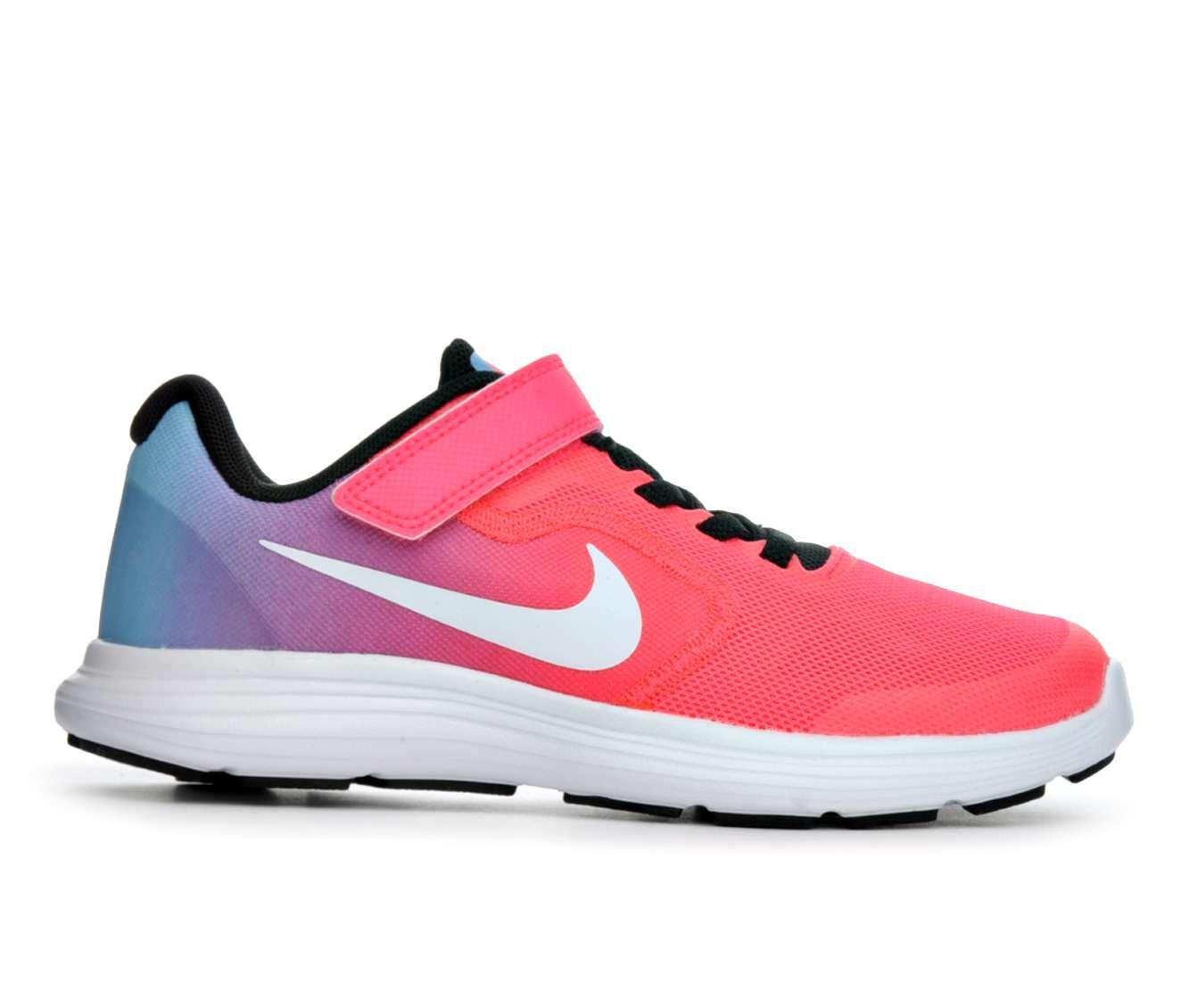 Girls\u0026#39; Nike Revolution 3 10.5-3 Running Shoes