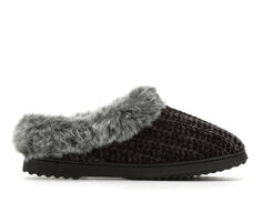 Dearfoams Chenille Knit Slippers