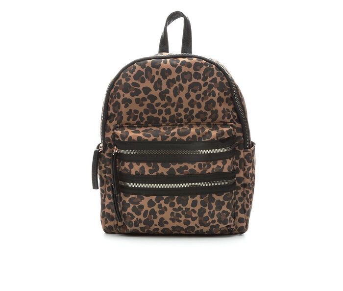 Rampage Leopard Midi Backpack Handbag