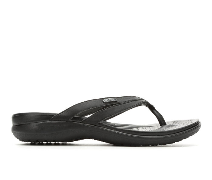 Women's Crocs Capri Strappy Flip-Flops