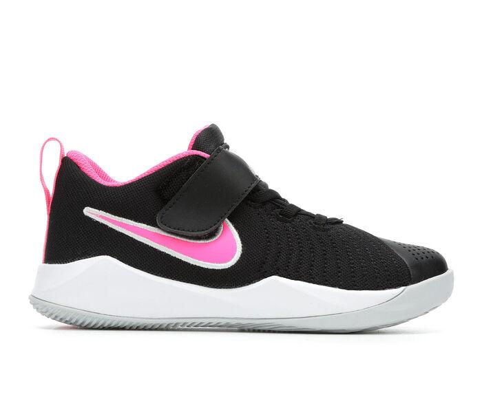 Girls' Nike Little Kid Team Hustle Quick 2 Basketball Shoes