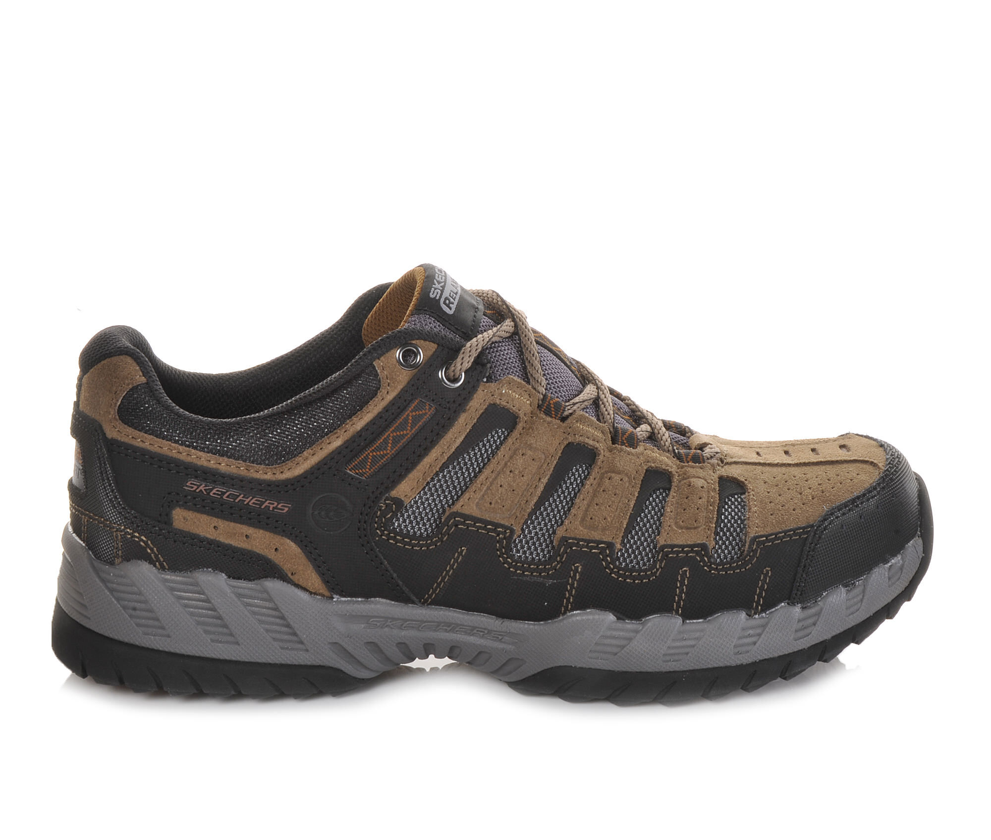 Skechers Shoes Skechers Thrill Seeker Relaxed 51384 Mens Sports Shoes Brown/Black