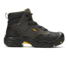 Men's KEEN Utility Logandale 6 In Steel Toe USA Work Boots