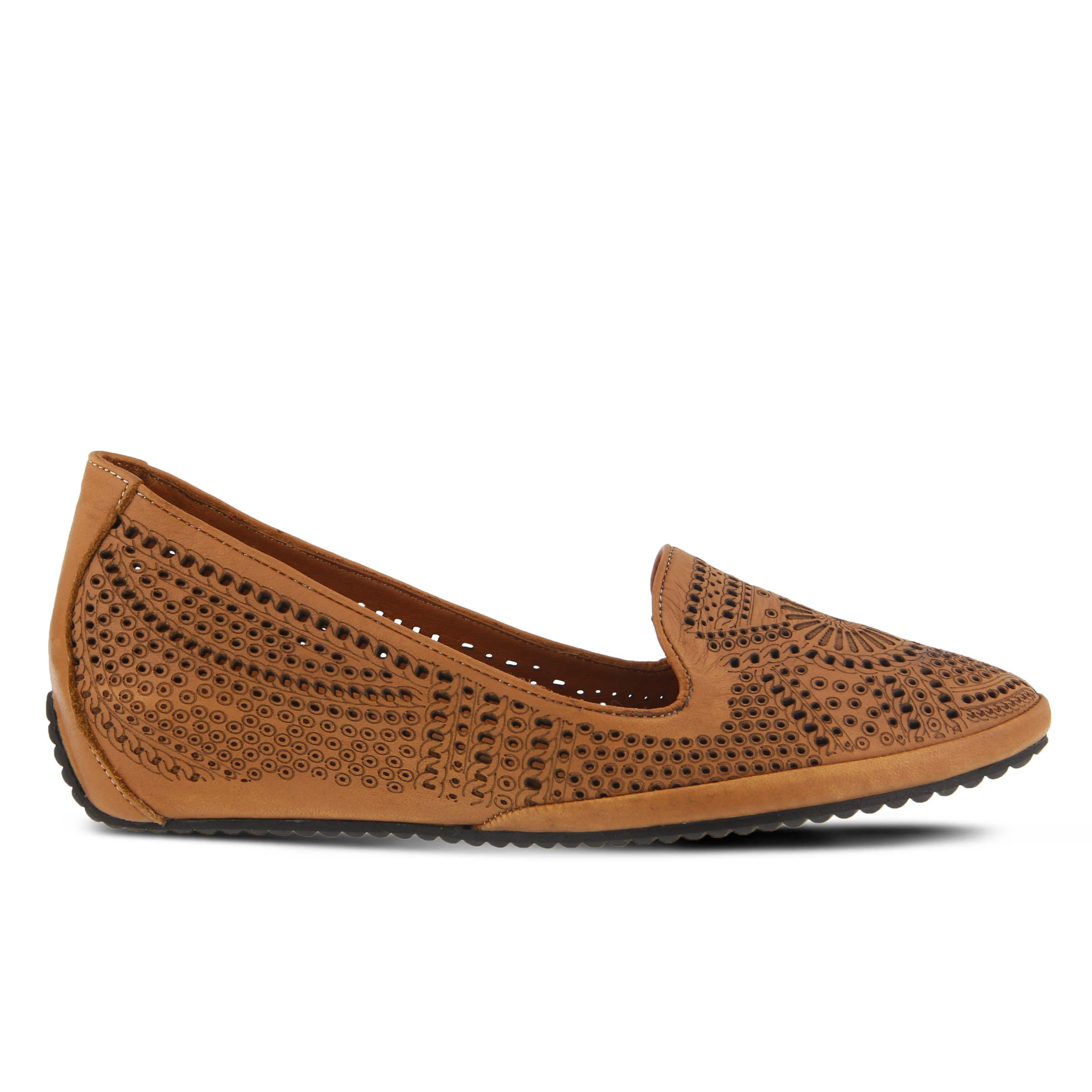 Economic Popular Women's SPRING STEP Shondra Flats Camel