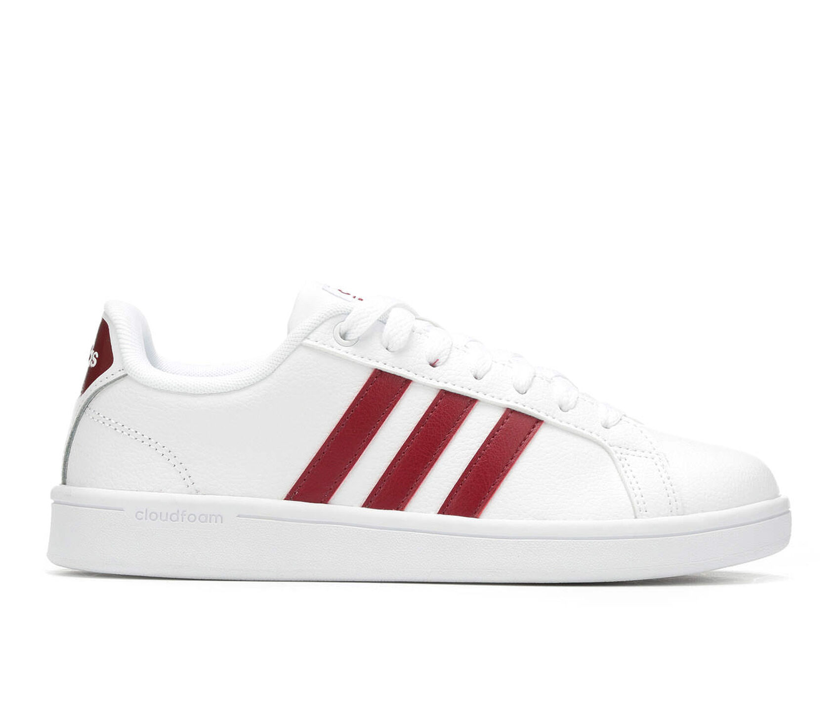 550cecc2f5ccd Women s Adidas Advantage Stripes Sneakers