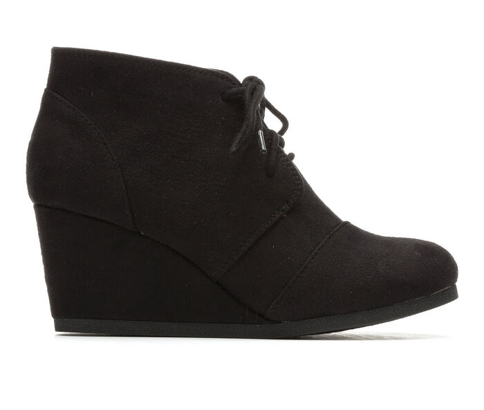 Women's Unr8ed Sandy Wedge Lace-Up Booties