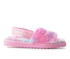 Juicy Hayzell Fuzzy Sandals