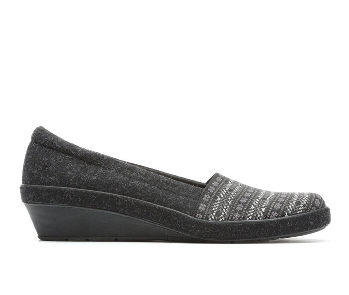 Women's Grasshoppers Corin Wedge Wool Shoes