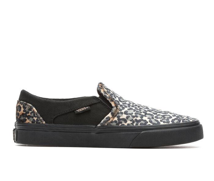 Women's Vans Asher Cozy Animal Skate Shoes