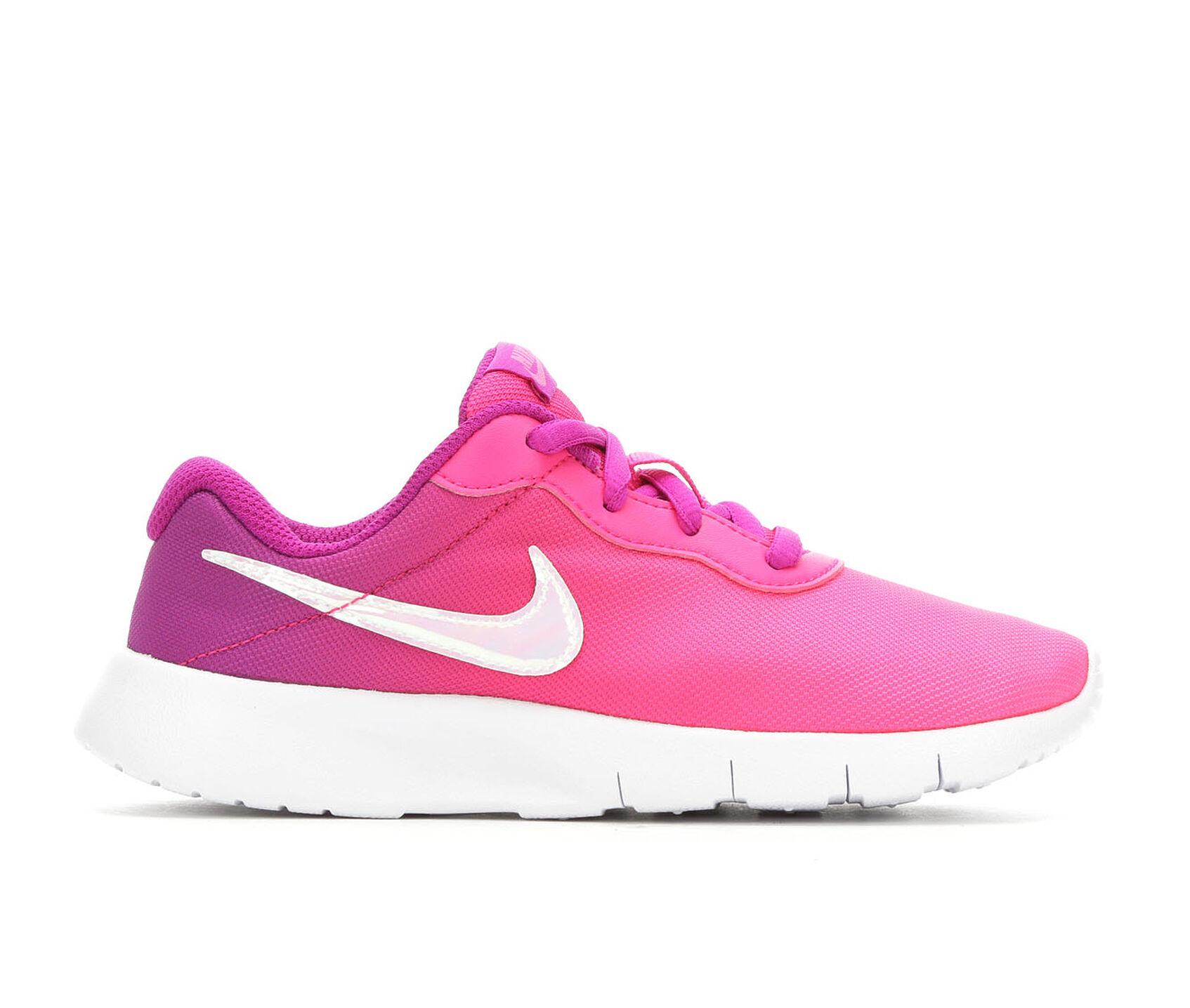 313aa87d7cbe Girls  Nike Little Kid Tanjun Fade Running Shoes