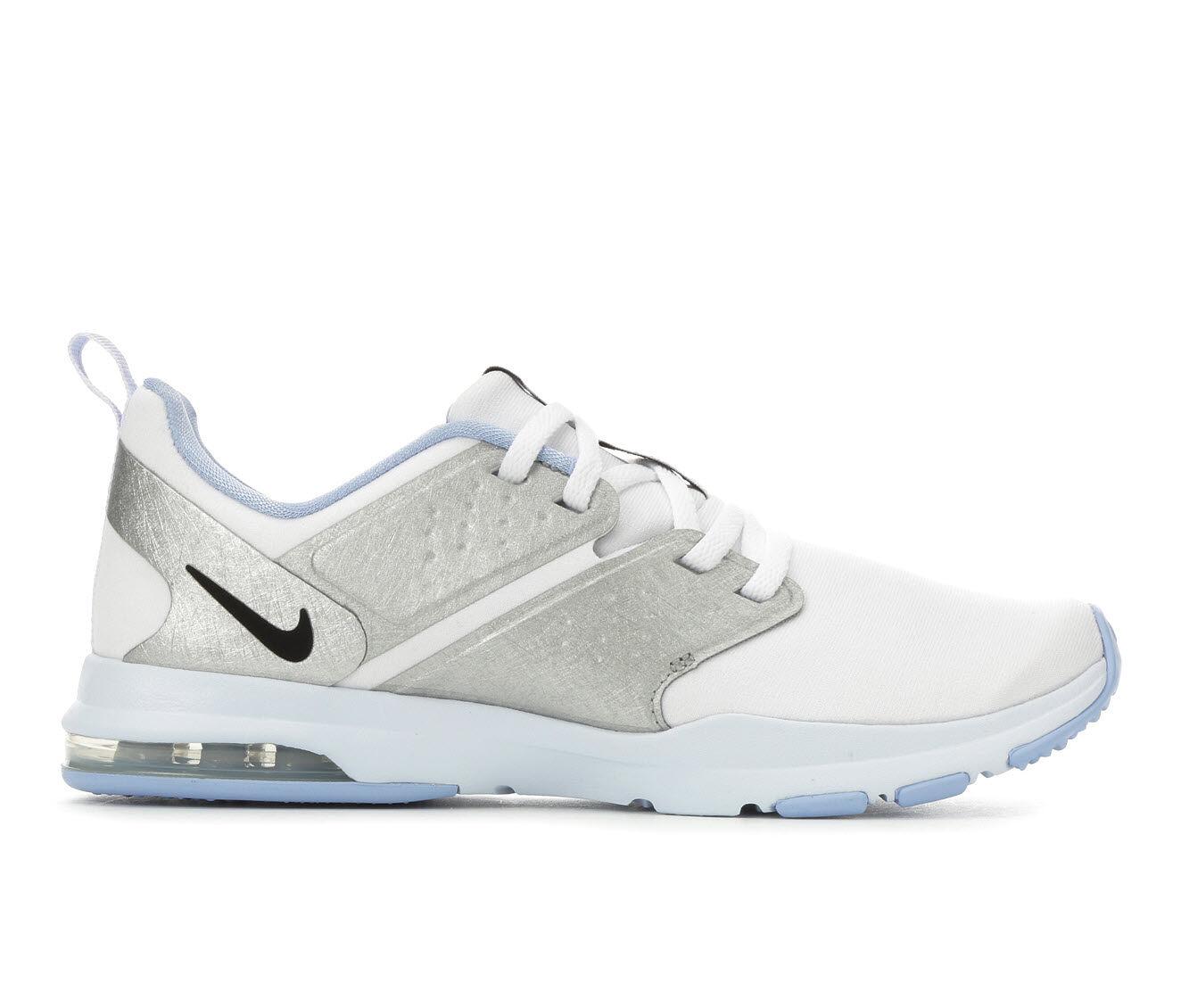 Women's Nike Air Bella TR Training Shoes Wht/Blk/Blue