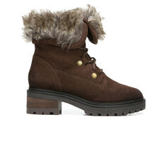 Women's Zodiac Canyon Lugged Lace-Up Boots