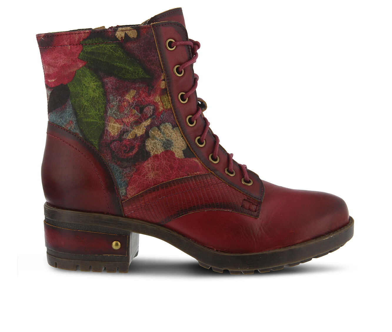 choose comfortable authentic Women's L'ARTISTE Marty Hiking Boots Red