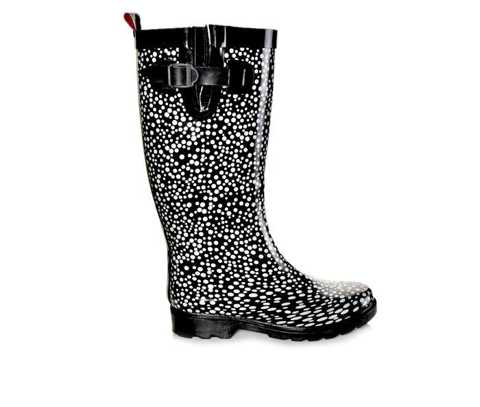 Women's Capelli New York Two Color Pebble Rain Boots