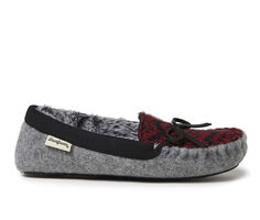 Dearfoams Felt and Fairisle Knit Moccasin