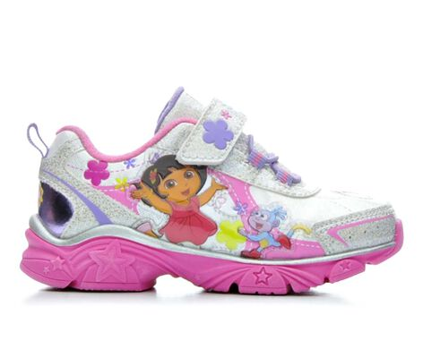 Girls' Nickelodeon Dora 3 6-12 Light-Up Shoes