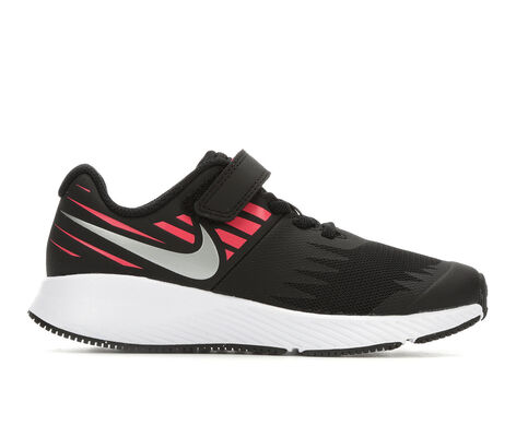 Girls' Nike Star Runner Velcro 10.5-3 Running Shoes