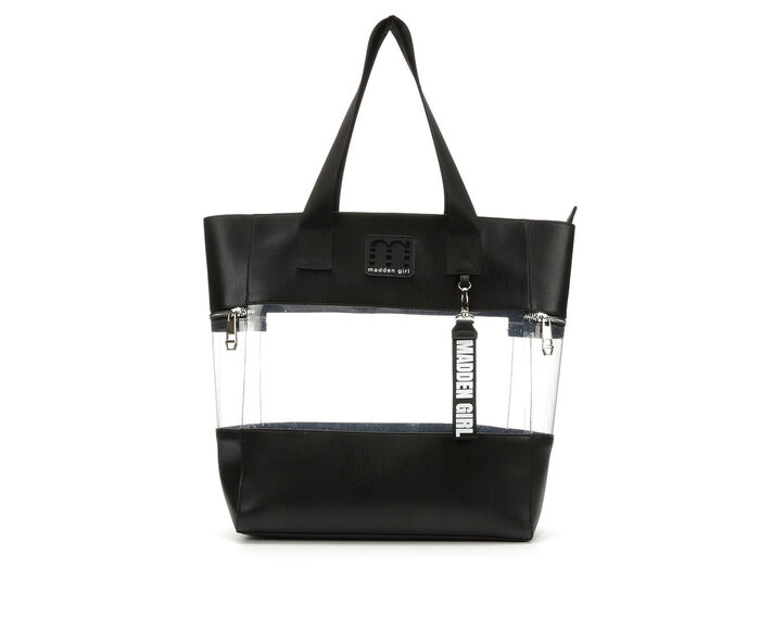 Madden Girl Handbags Clear Tote