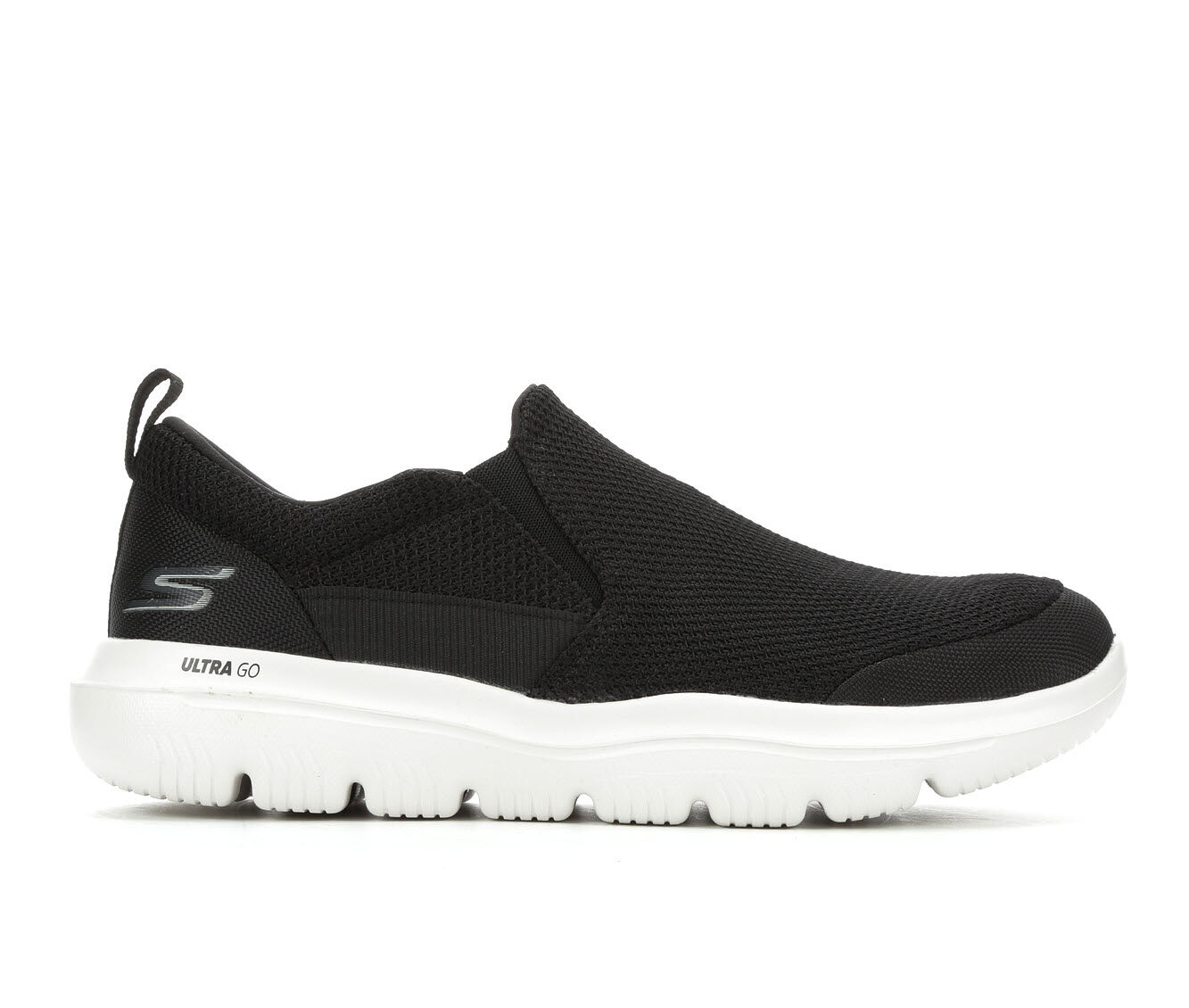 buy newest Men's Skechers Go Evolution Ultra Casual Shoes Black/White