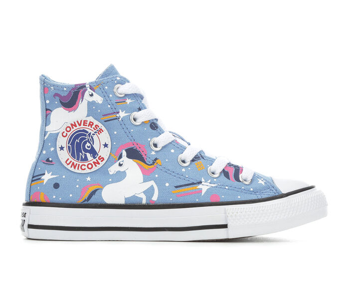 Girls' Converse Little Kid & Big Kid CTAS Space Unicorn High-Top Sneakers