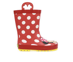Girls' Western Chief Toddler Minnie Mouse Rain Boots