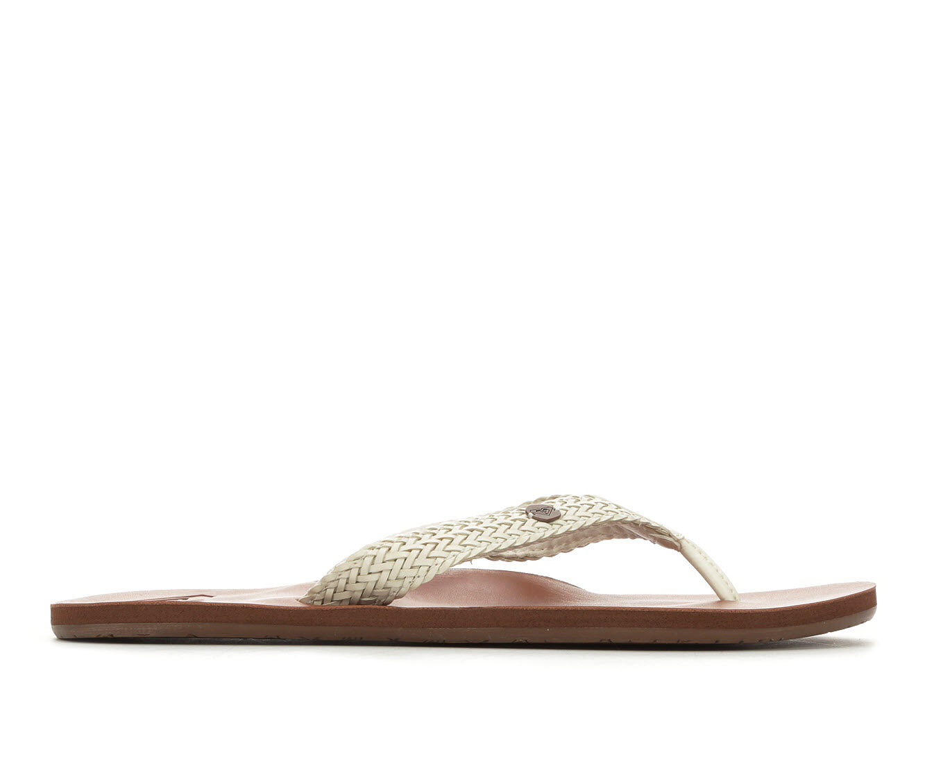 Women's Roxy Lola Flip-Flops White