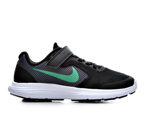Boys' Nike Revolution 3 10.5-3 Running Shoes