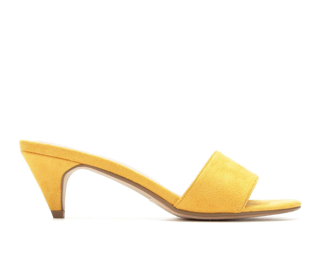 Women's City Classified Dodder Dress Sandals Mustard