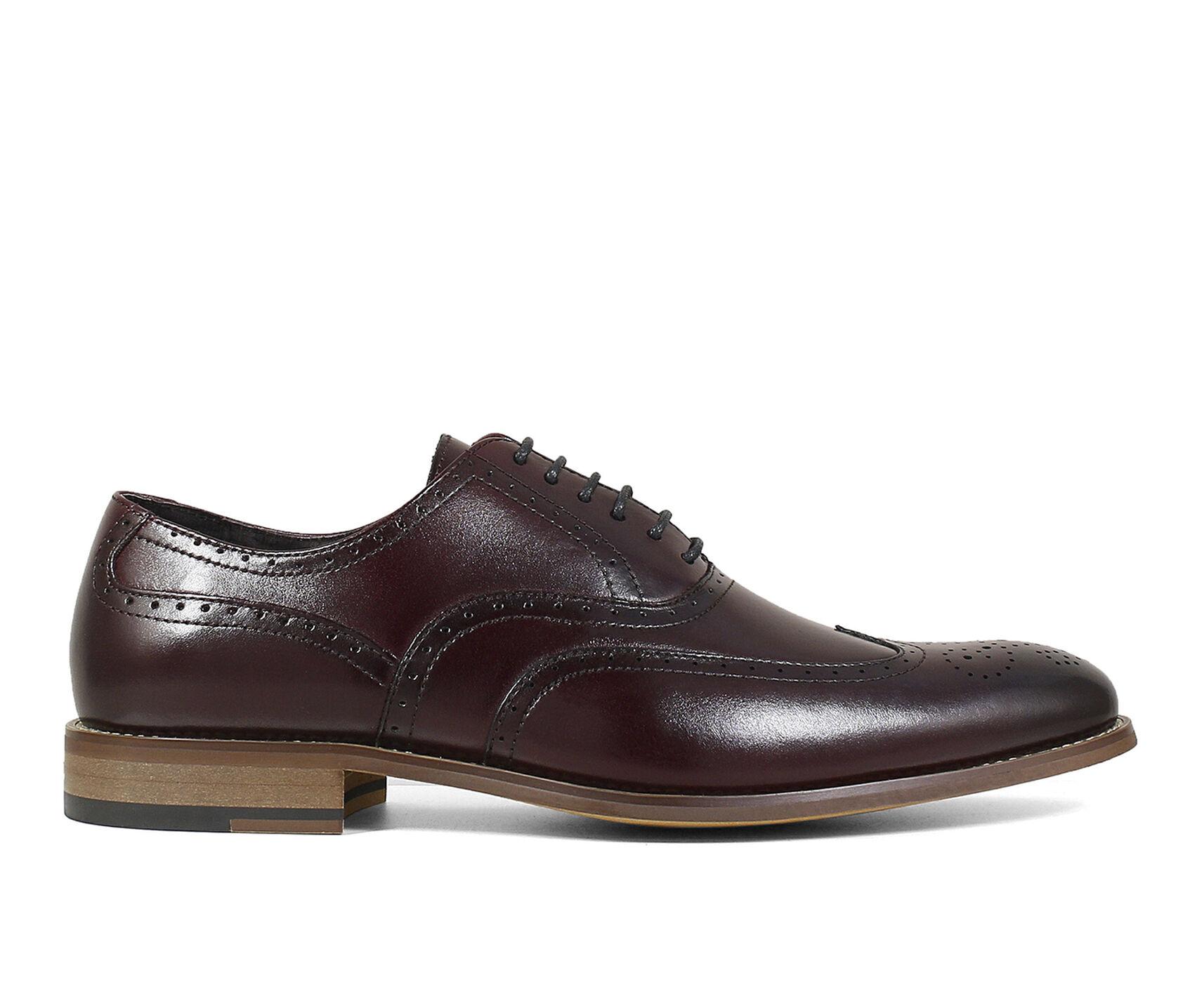 5368b5c45383e Men's Stacy Adams Dunbar Wingtip Wing Tip Dress Shoes | Shoe Carnival