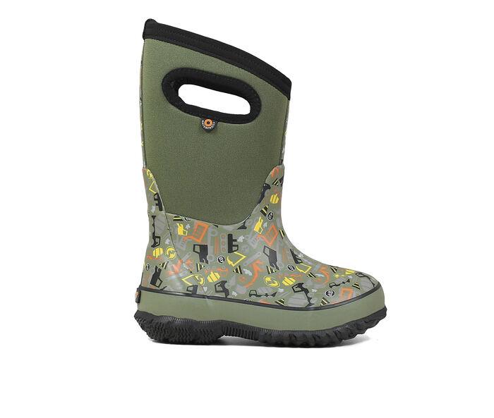 Boys' Bogs Footwear Toddler/Little Kid/Big Kid Classic Construction Boots
