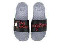 Men's Champion Shoe Super Split Script CB Sport Slides