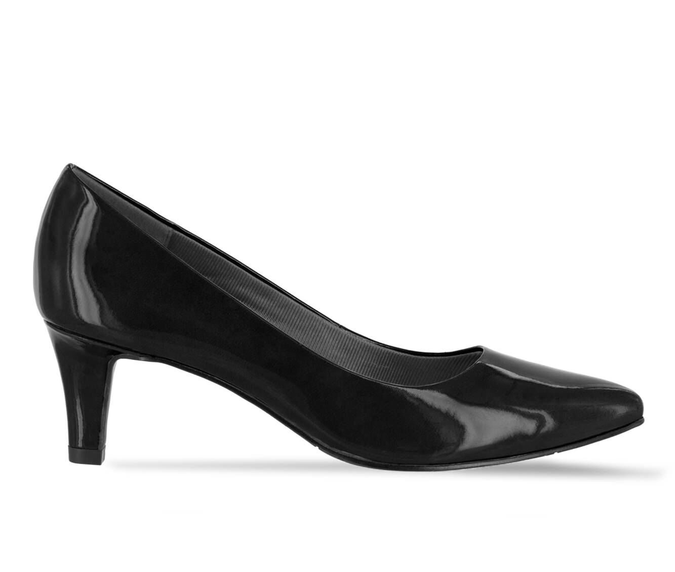 Women's Easy Street Pointe Shoes Black Patent