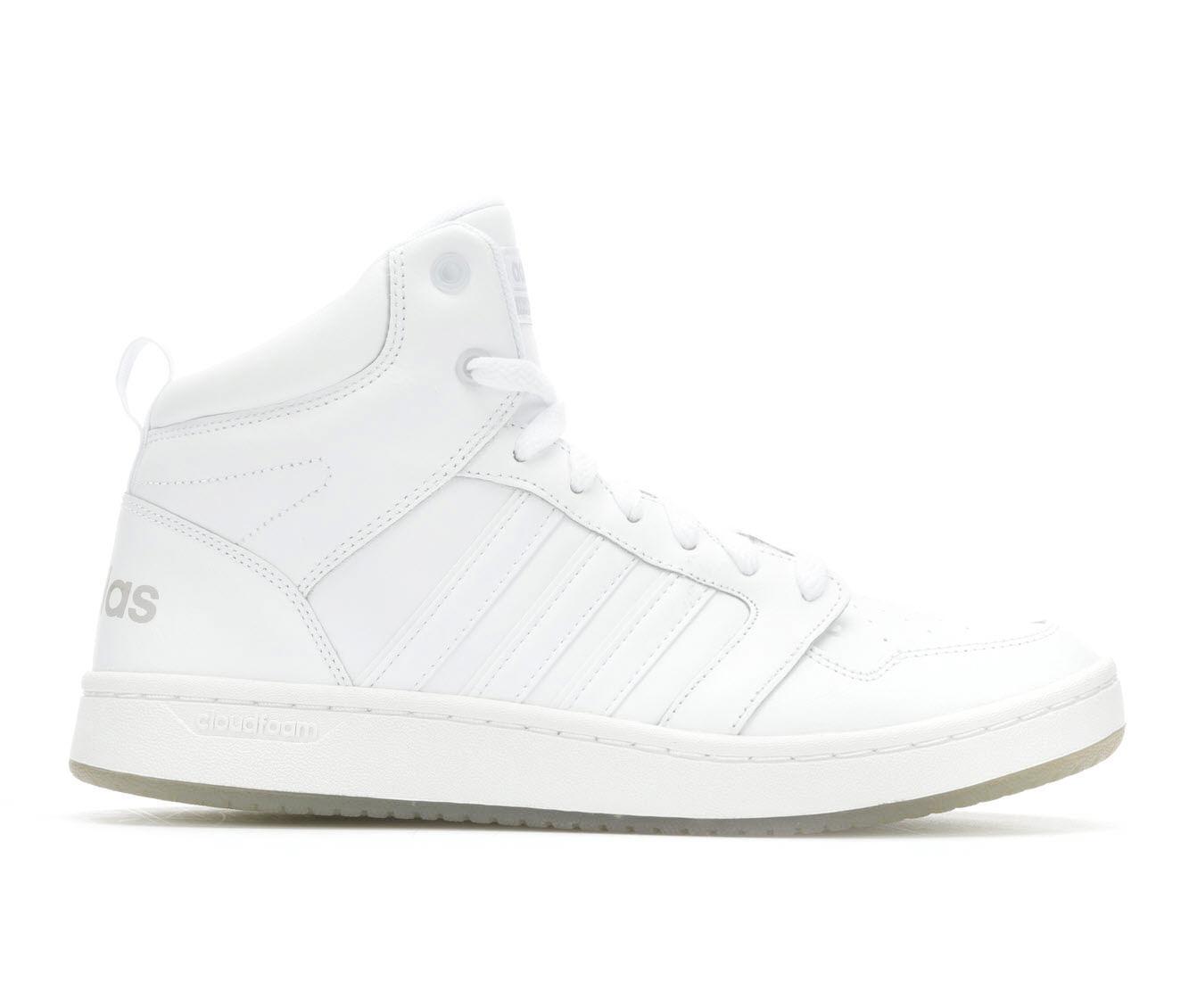 adidas cloudfoam all white
