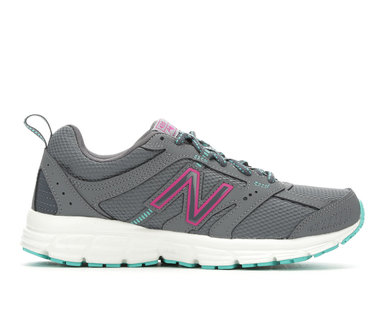 Women's New Balance W430V1 Trail Running Shoes Grey/Teal/Pink