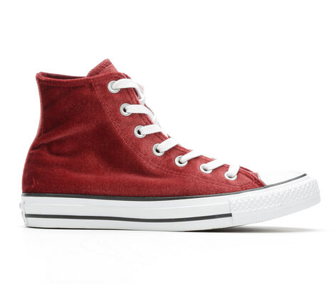 Women's Converse Seasonal Velvet Hi High Top Sneakers