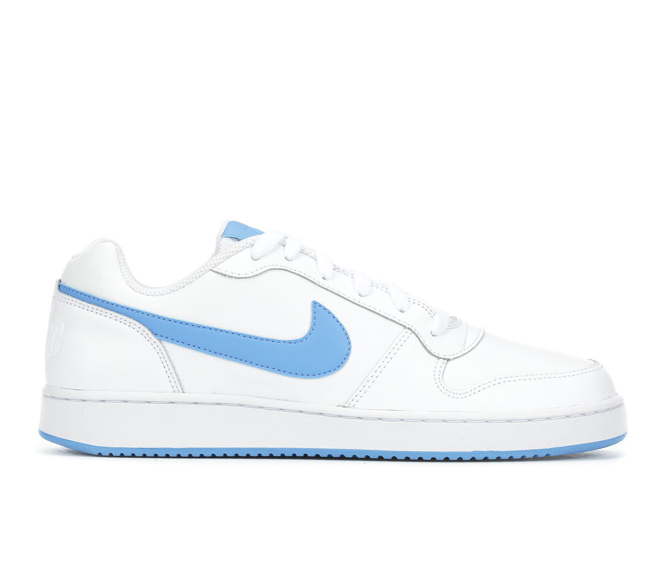For Your Selection Men's Nike Ebernon Low Sneakers Wht/Blu 102