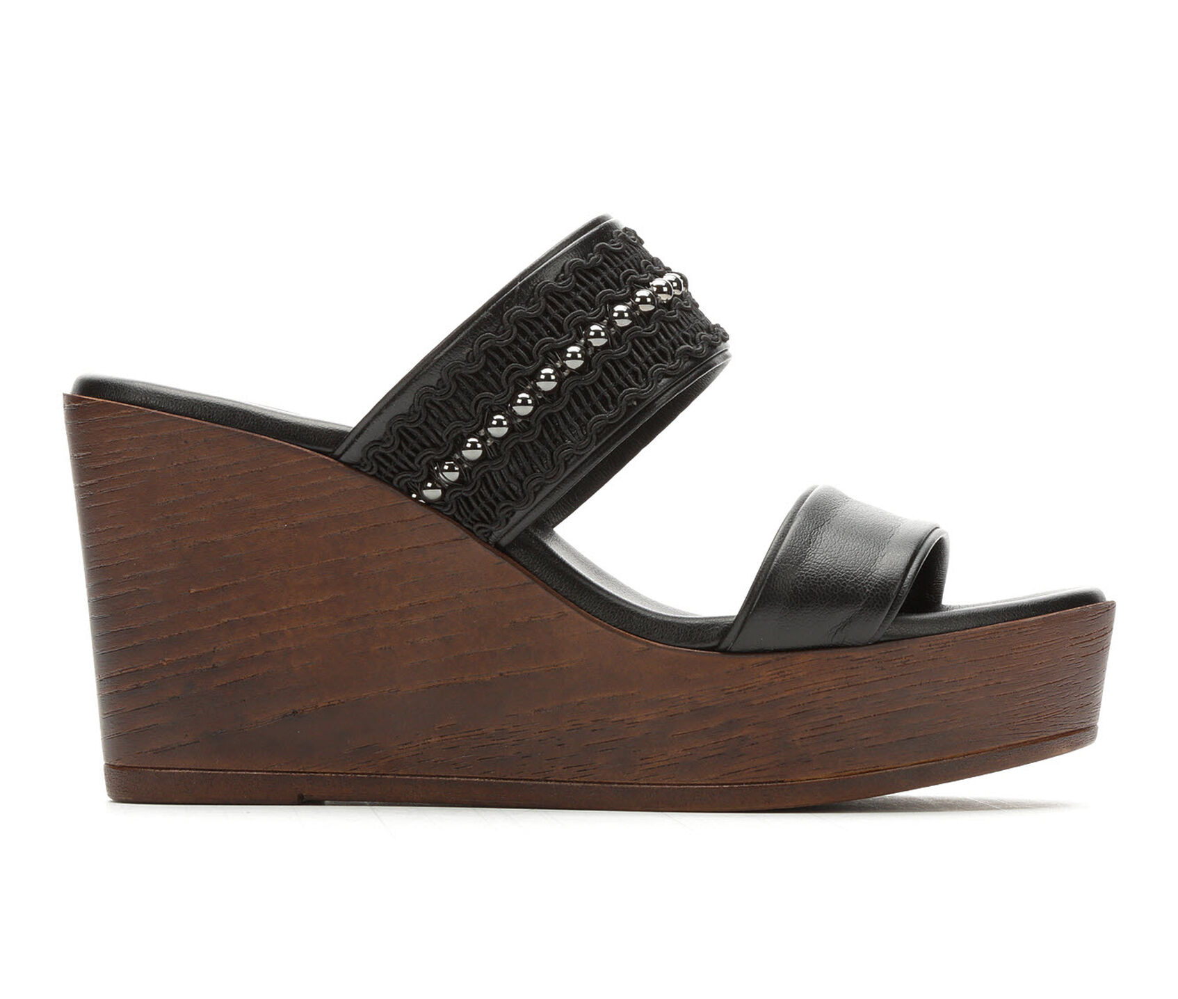 1c9a5fa6ebf8 Women s Italian Shoemakers Audi Wedge Sandals