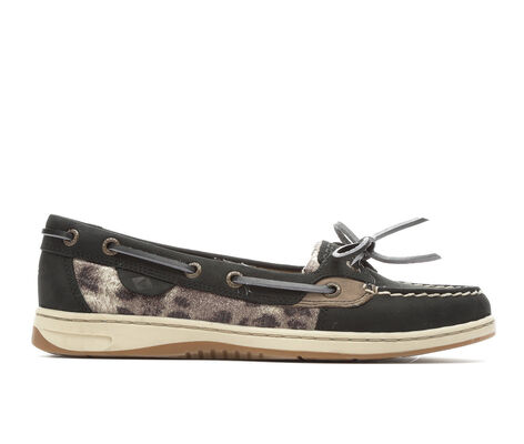 Women's Sperry Angelfish Cheetah Boat Shoes