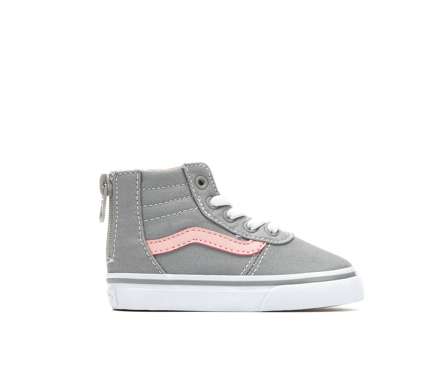 Girls Vans Infant Toddler Maddie Hi Zip High Top Skate Shoes Sneakers Previous