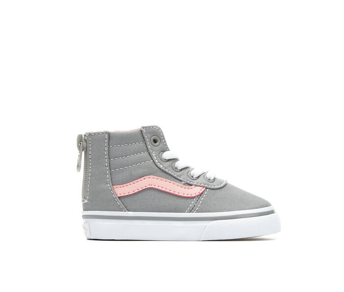 Girls' Vans Infant & Toddler Maddie Hi Zip High Top Skate Shoes