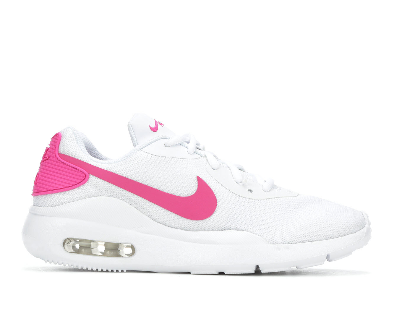 Women's Nike Air Max Oketo Sneakers White/Fuchsia