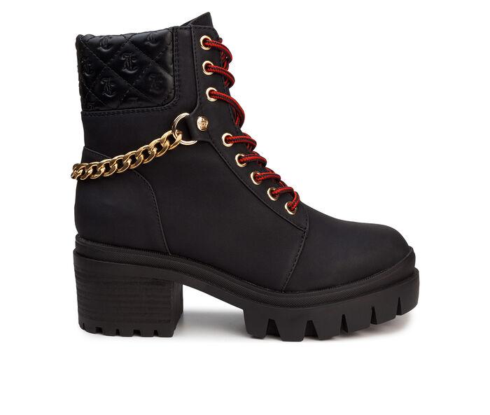 Women's Juicy Question Combat Boots