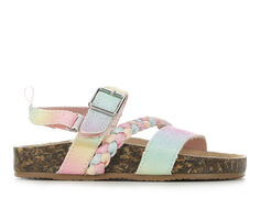 Girls' OshKosh B'gosh Toddler & Little Kid Faith Footbed Sandals