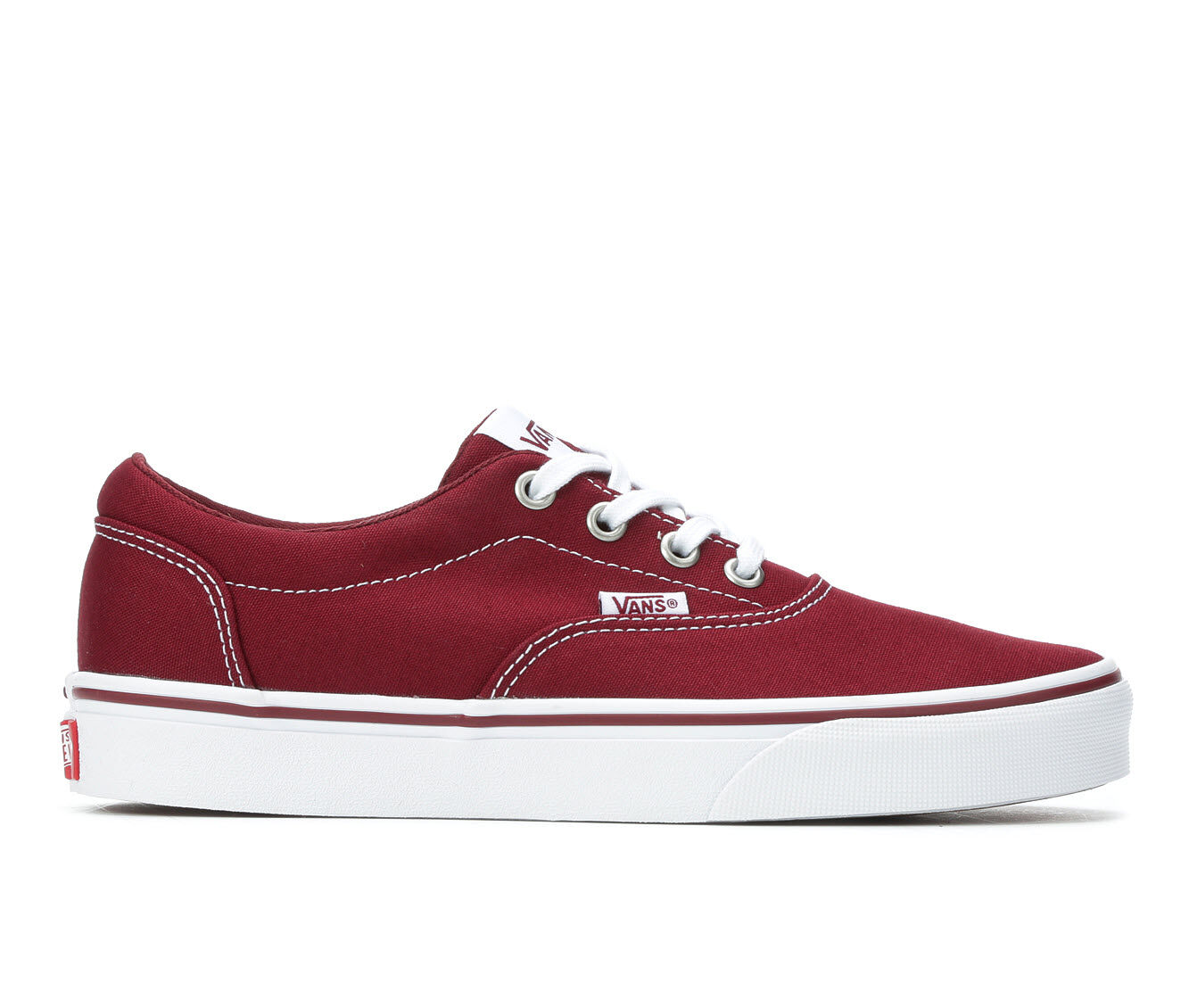 Women's Vans Doheny Skate Shoes Cabernet Red
