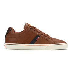 Men's Levis Turner Nappa Faux Leather Sneakers