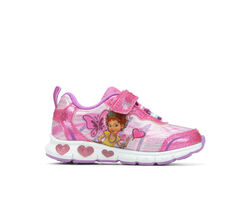 Girls' Disney Toddler & Little Kid Fancy Nancy 3 Light-Up Sneakers