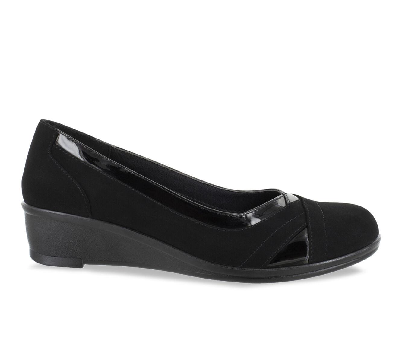 Women's Easy Street Dena Shoes Black Suede